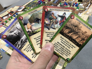 The linen cards from www.printplaygames.com are fantastic!